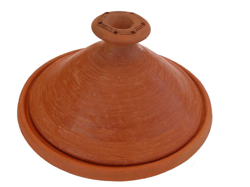 Marokkanische tajine berber zum kochen unglasiert 35 cm for Kochen 4 personen