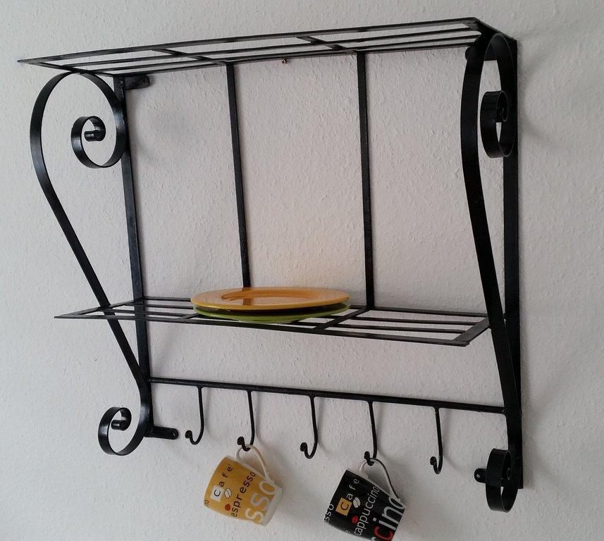 marokkanische m bel wandregal b cherregal aus eisen marrakech. Black Bedroom Furniture Sets. Home Design Ideas