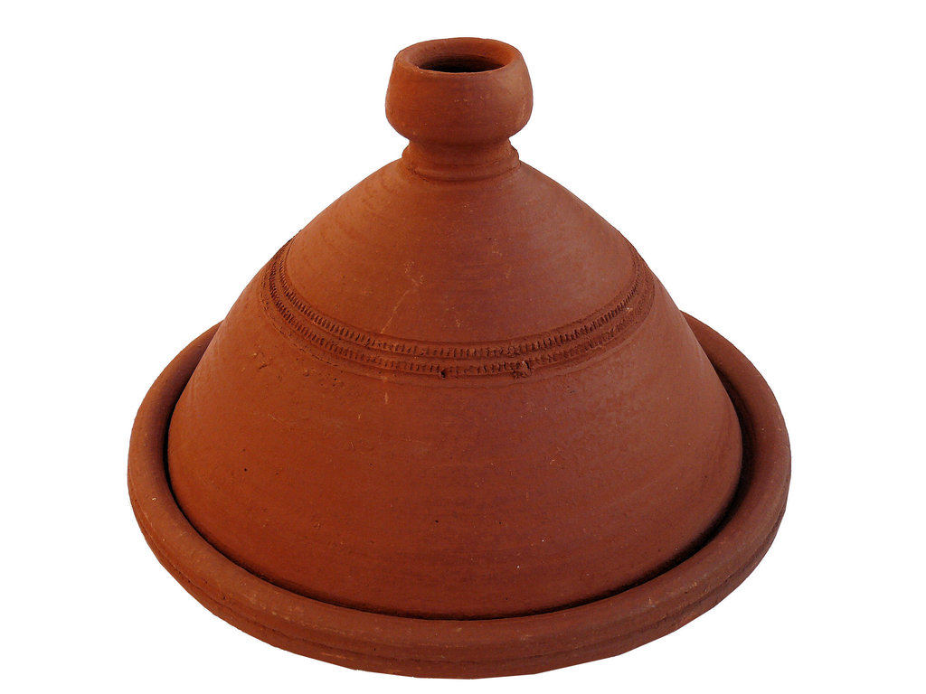 Marokkanische tajine kasbah zum kochen unglasiert 40 cm for Kochen 4 personen