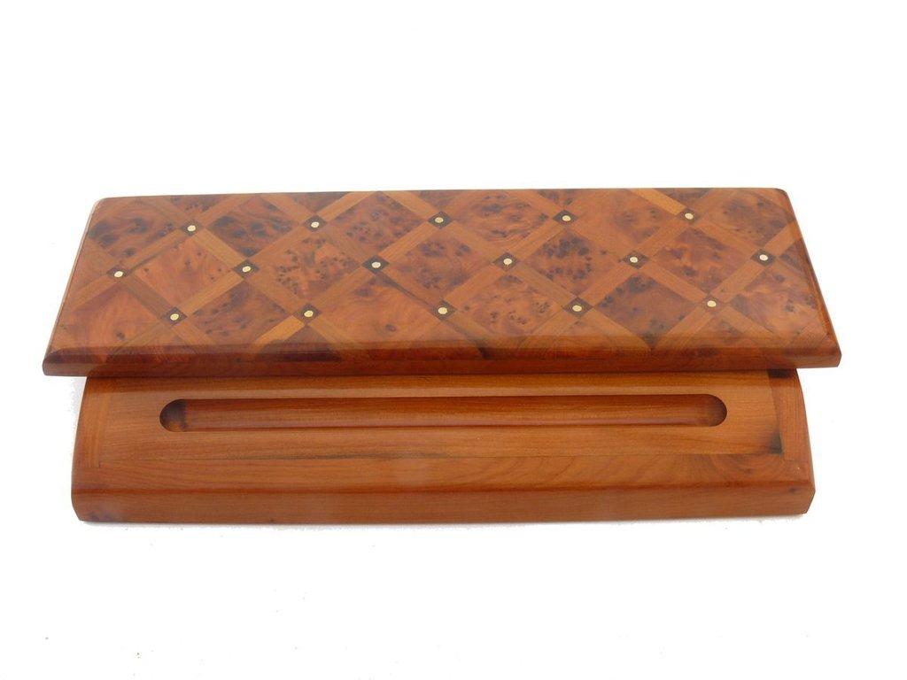 holz kugelschreiber f ller stifte halter b ro schreibtischutensil etui geschenkbox marrakech. Black Bedroom Furniture Sets. Home Design Ideas