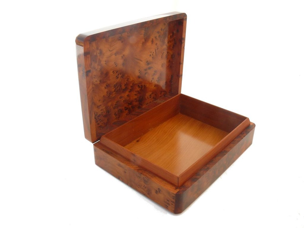 holz schatulle k stchen kiste aufbewahrungsbox schmuck thuja orient marrakech. Black Bedroom Furniture Sets. Home Design Ideas