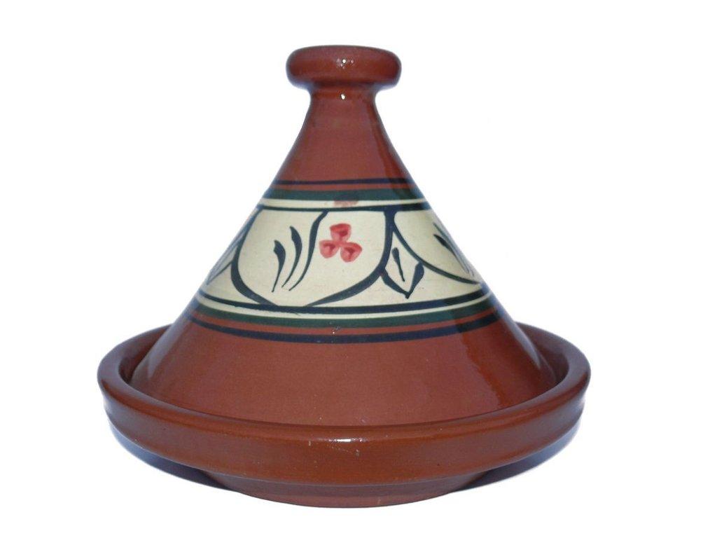 Marokkanische tajine zum kochen 30 cm f 2 4 personen for Kochen 5 personen