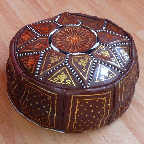 Orientalische sitzkissen poufs leder for Bodenkissen orientalisch