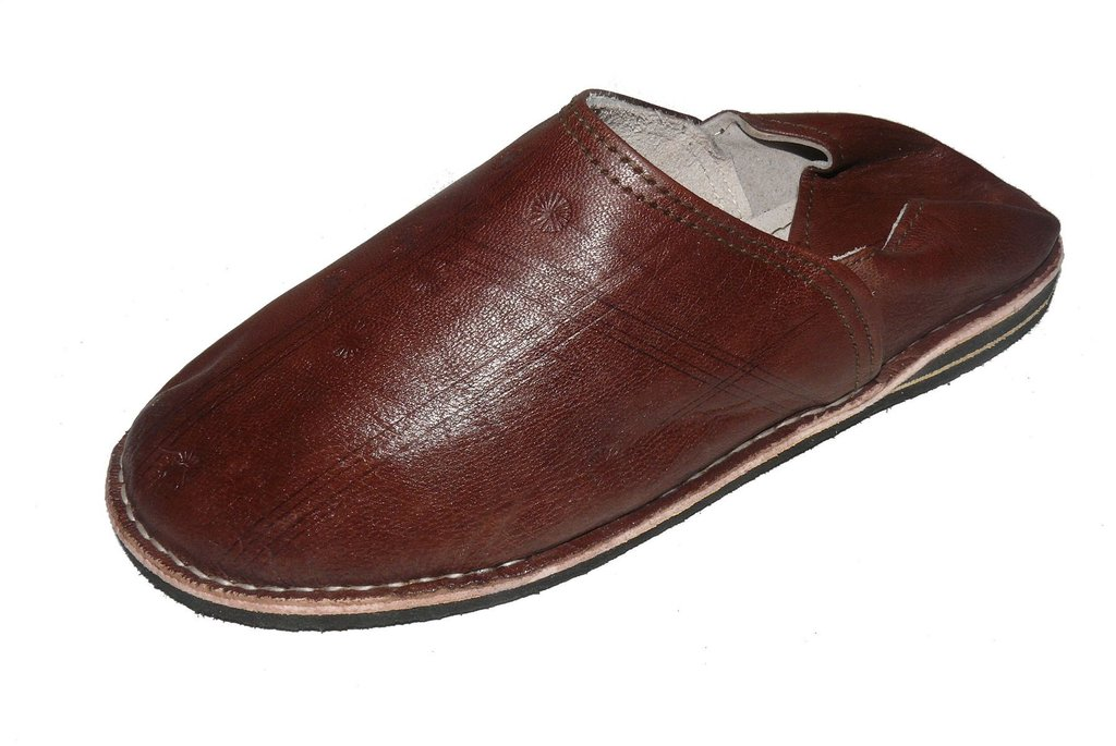neue niedrigere Preise neueste Kollektion Promo-Codes Orientalische Leder Schuhe Pantoffeln Hausschuh Slipper - Herren