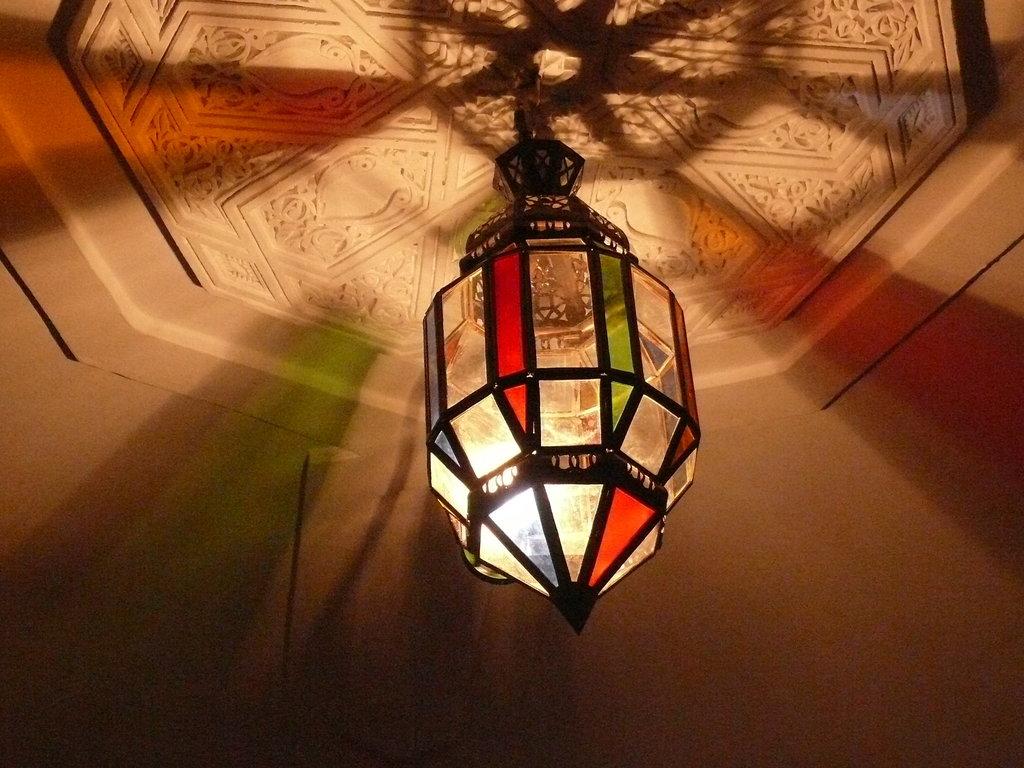 Orientalische h ngelampe deckenlampe leuchte 1001 nacht for Orientalische deckenlampe